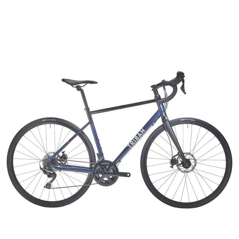 ДАМСКИ ШОСЕЙНИ ВЕЛОСИПЕДИ Колоездене - ДАМСКИ ВЕЛОСИПЕД RC520 DISC TRIBAN - Велосипеди