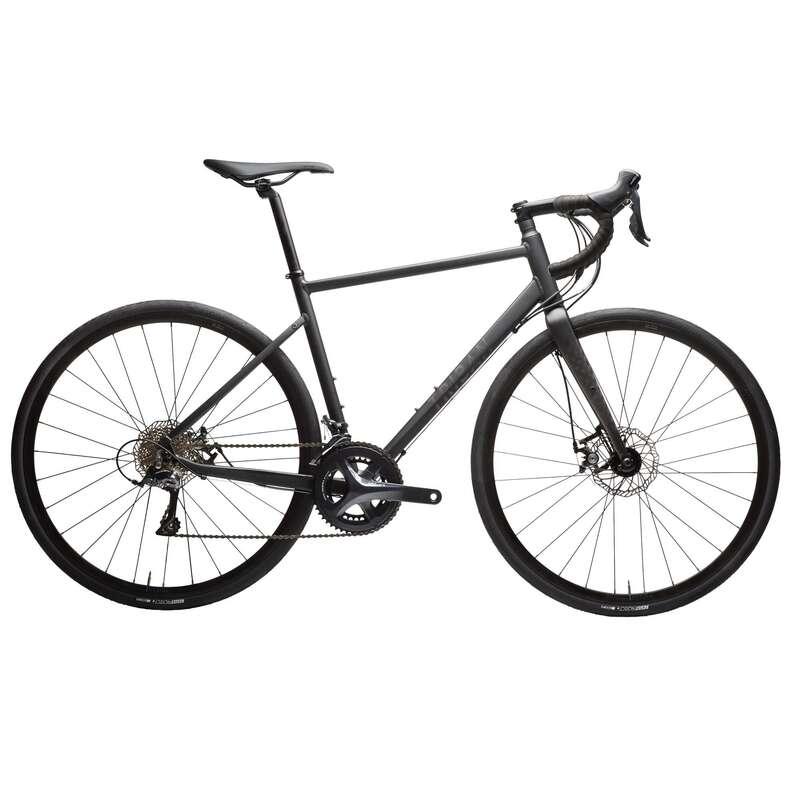 MEN ROAD CYCLING BIKES Cycling - TRIBAN RC500 BLACK - SECOND LIFE TRIBAN - Bikes