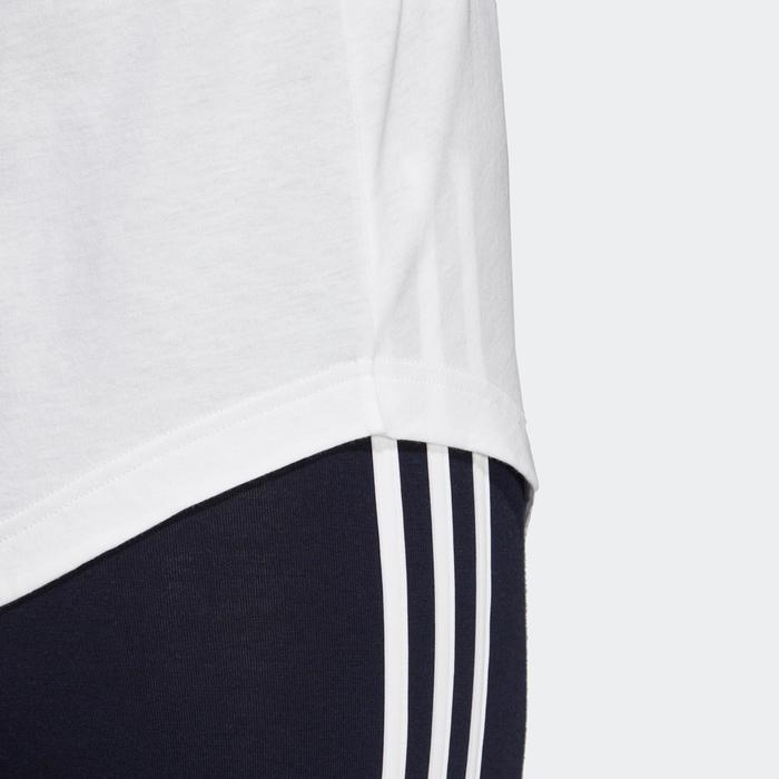 Débardeur Adidas blanc femme LINEAR