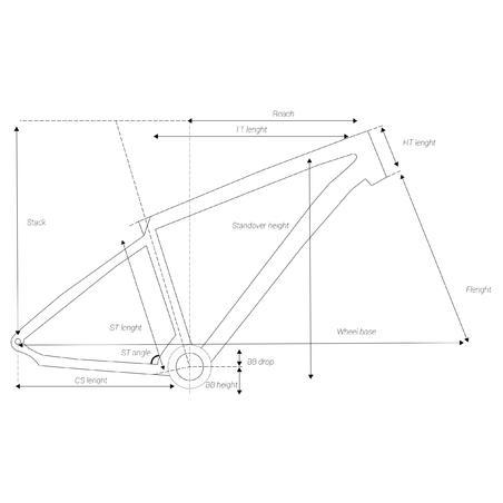 """Kalnu velosipēds """"ST 520 V2"""", 27,5"""", melns"""
