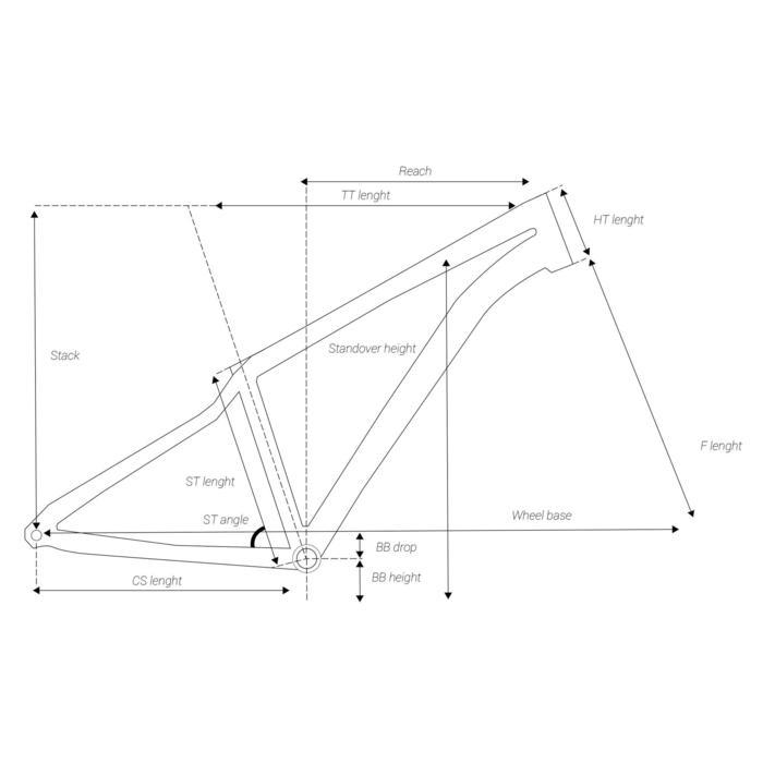 """MOUNTAINBIKE ST 120 ZWART/BLAUW 27.5"""""""
