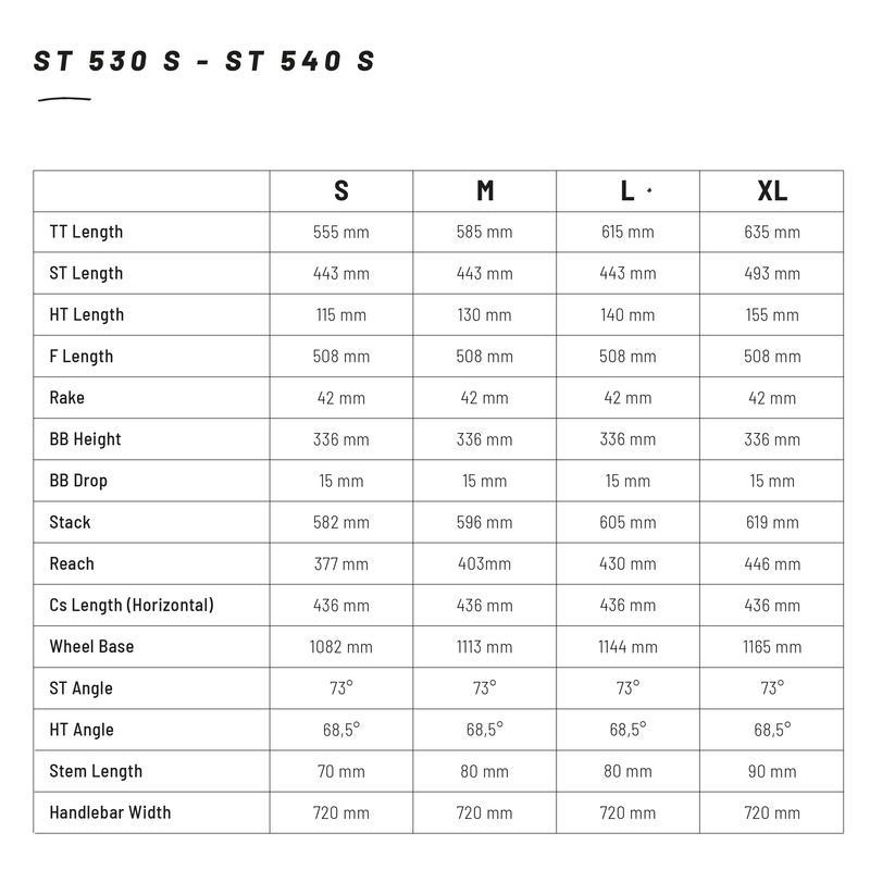 """CADRE VTT ROCKRIDER ST 530S NOIR 27.5"""" DRS16 ALUMINIUM"""