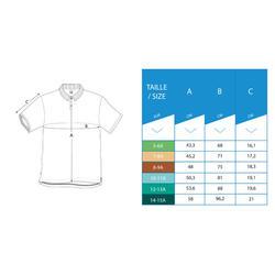 Kids' Golf Mild Weather Polo Shirt - White