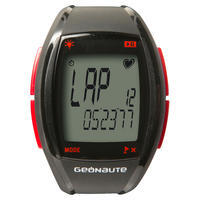 ONRHYTHM 410 CARDIO WATCH AND CODED HRM STRAP - RED