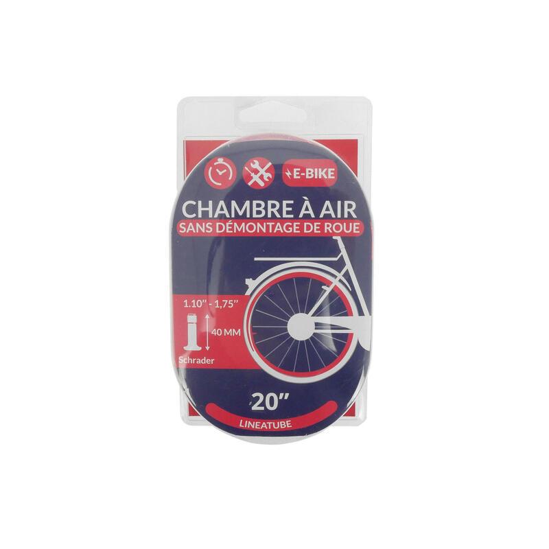 CHAMBRE A AIR LINEAIRE 20x1,10-1,75 VALVE SCHRADER