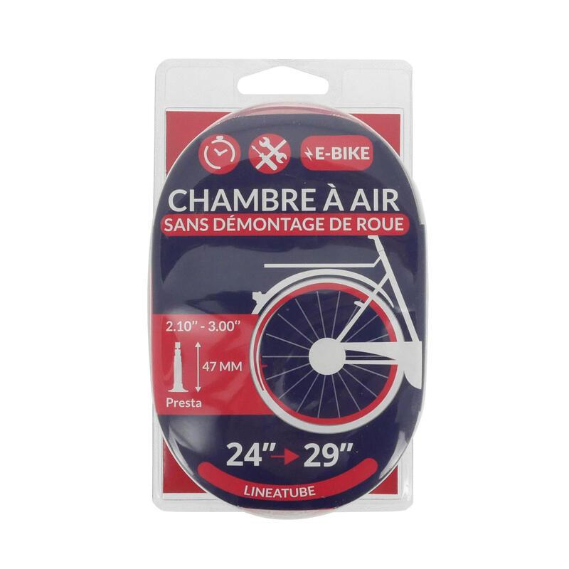 CHAMBRE A AIR LINEAIRE 24/29x2,10-3,00 VALVE PRESTA