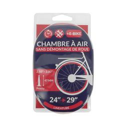 CHAMBRE A AIR LINEAIRE 20/29x2,10-3,00 VALVE PRESTA