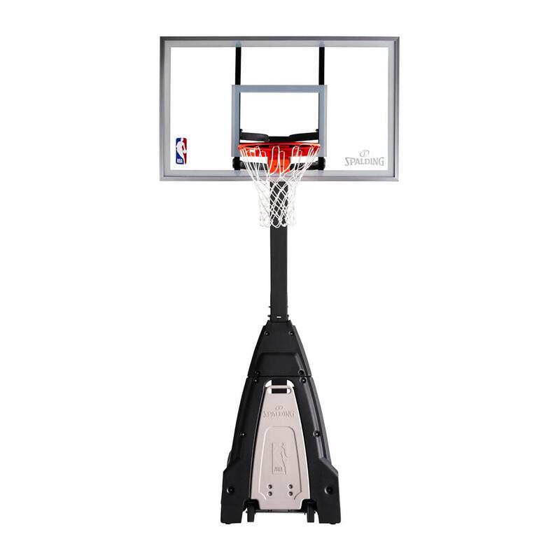 Canasta baloncesto niños y adulto SPALDING NBA BEAST ajustable de 2,30 a 3,05 m.