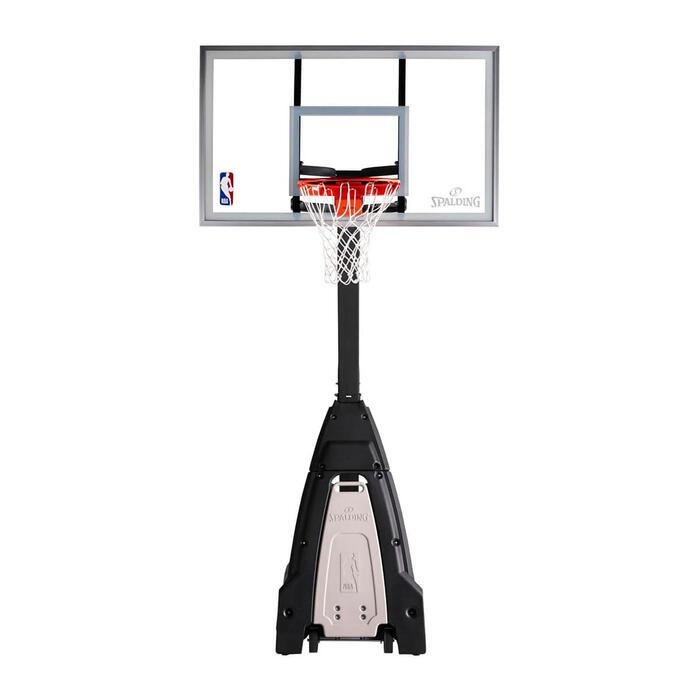 Panier de basket enfant et adulte SPALDING NBA BEAST réglable de 2,30m à 3,05m.
