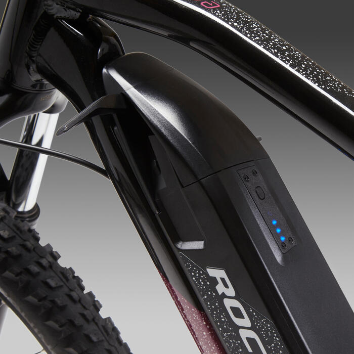 """Vélo VTT électrique e-ST520 Femme Noir 27,5"""""""