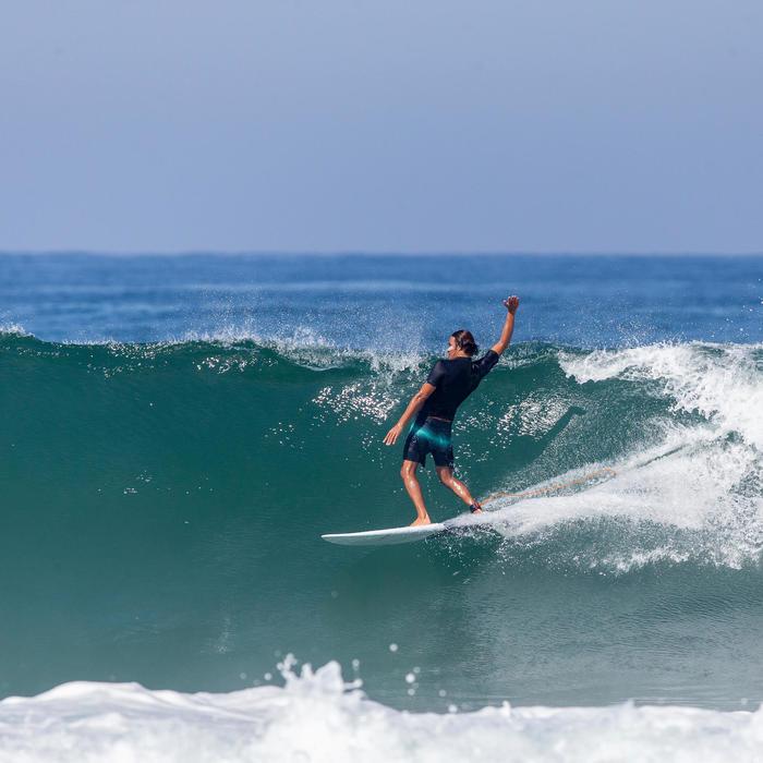 Klassieke Surf Boardshort 900 Lichtgroen