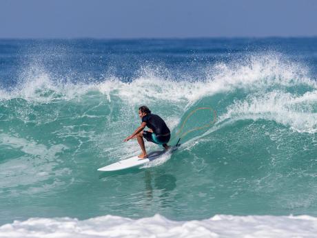 Força explosiva no Surf