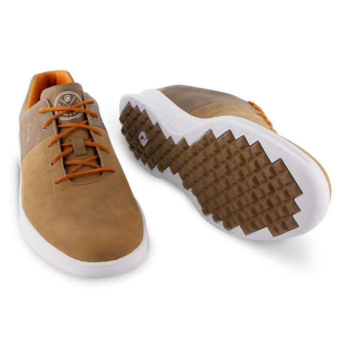 CHAUSSURES GOLF HOMME CONTOUR CASUAL MARRON