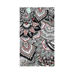 衝浪毛巾L號-印花圖騰花紋款 145x85 cm