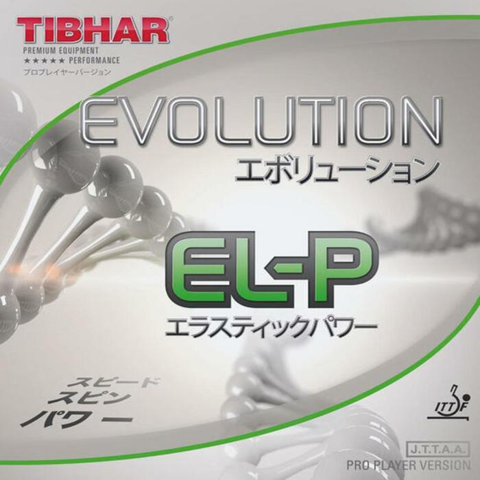 Rubber voor tafeltennisbat Evolution EL-P