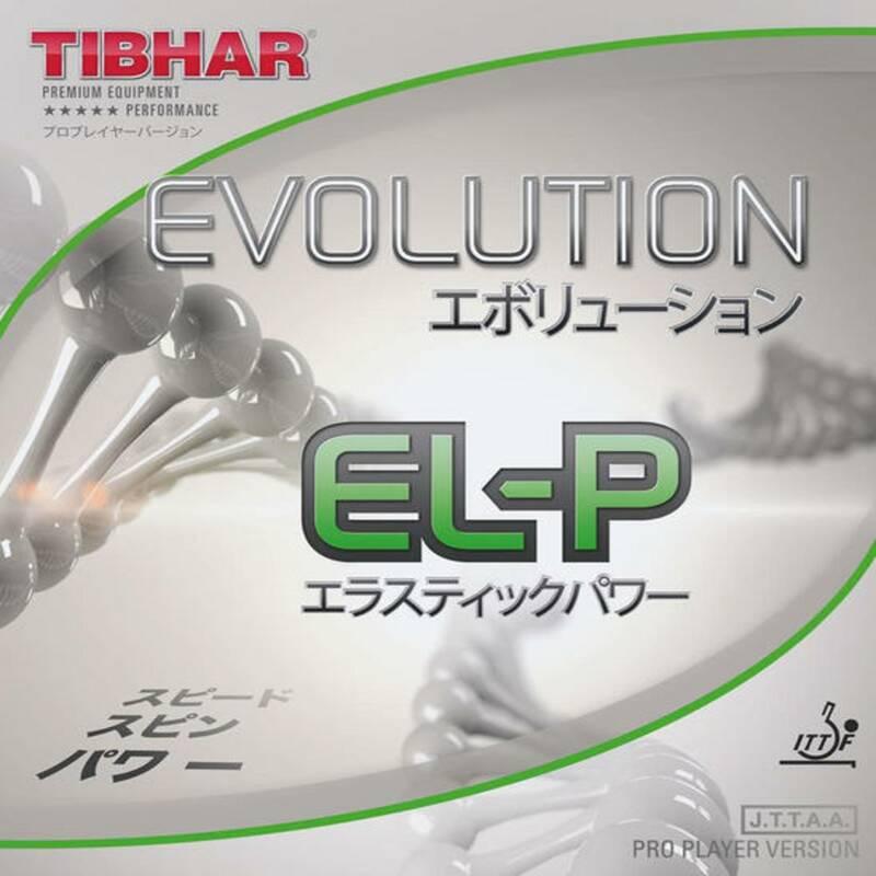 DŘEVA, POTAHY A DOPLŇKY NA STOLNÍ TENIS RAKETOVÉ SPORTY - POTAH EVOLUTION EL-P TIBHAR - Stolní tenis, ping pong