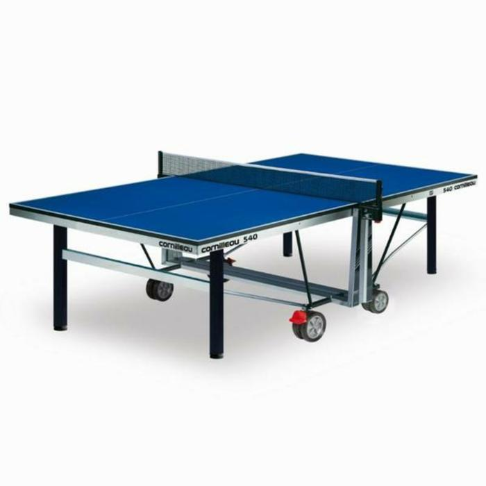 TABLE DE TENNIS DE TABLE EN CLUB 540 INDOOR ITTF BLEUE