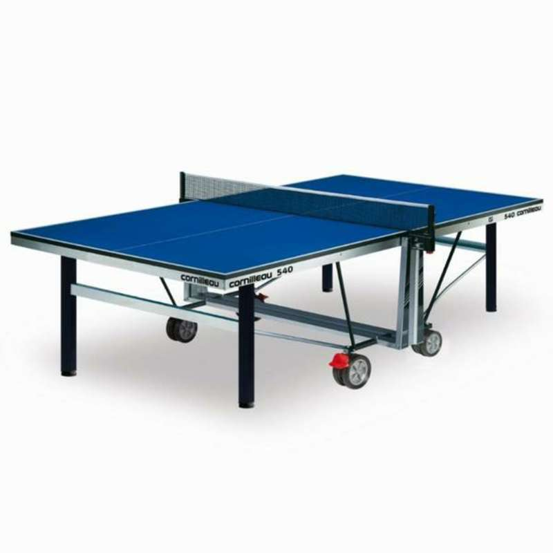 ACADEMIC TABLES Table Tennis - 540 ITTF COMPETITION INDOOR TABLE TENNIS TABLE - BLUE CORNILLEAU - Table Tennis Tables BLUE