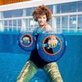 PLAVKY A VYBAVENÍ NA AQUAGYM, AQUABIKE Aqua aerobic, aqua fitness - ČINKY PULLPUSH MESH MODRÉ NABAIJI - Doplňky na aquafitness