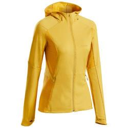 Fleece jas voor bergwandelen voor dames MH950