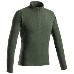Fleece voor bergwandelen heren MH500 groen