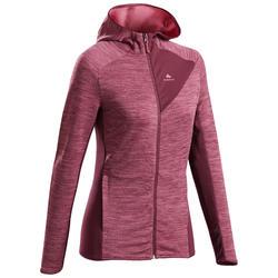 Fleece jas voor bergwandelen dames MH900