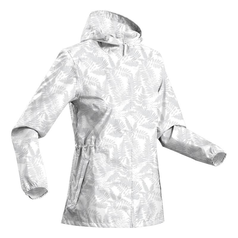 Casaco impermeável de caminhada NH100 Raincut - Mulher