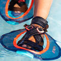 PLAVKY A VYBAVENÍ NA AQUAGYM, AQUABIKE Aqua aerobic, aqua fitness - ČINKY PULLSTEP MESH MODRÉ NABAIJI - Doplňky na aquafitness
