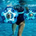 PLAVKY A VYBAVENÍ NA AQUAGYM, AQUABIKE Aqua aerobic, aqua fitness - ČINKY PULLPUSH FLOWER S ZELENÉ NABAIJI - Doplňky na aquafitness