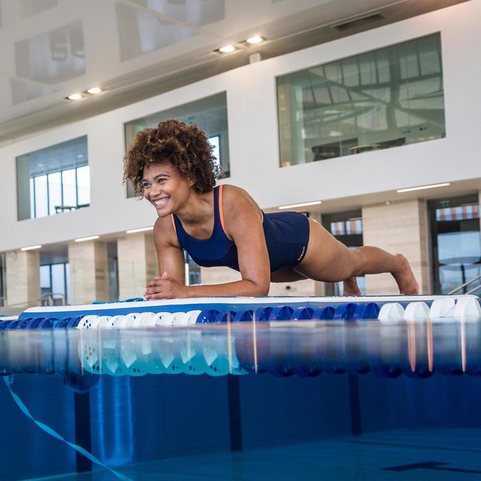 Matelas Aquatique flottant O'MAT d'Aquafitness et d'Aquagym bleu