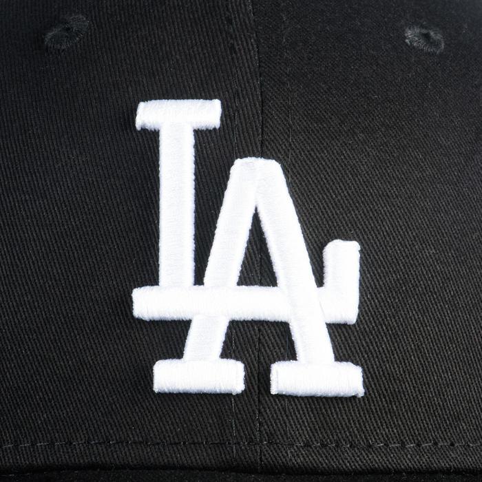 Baseballpet voor volwassenen 9Forty Los Angeles Dodgers zwart