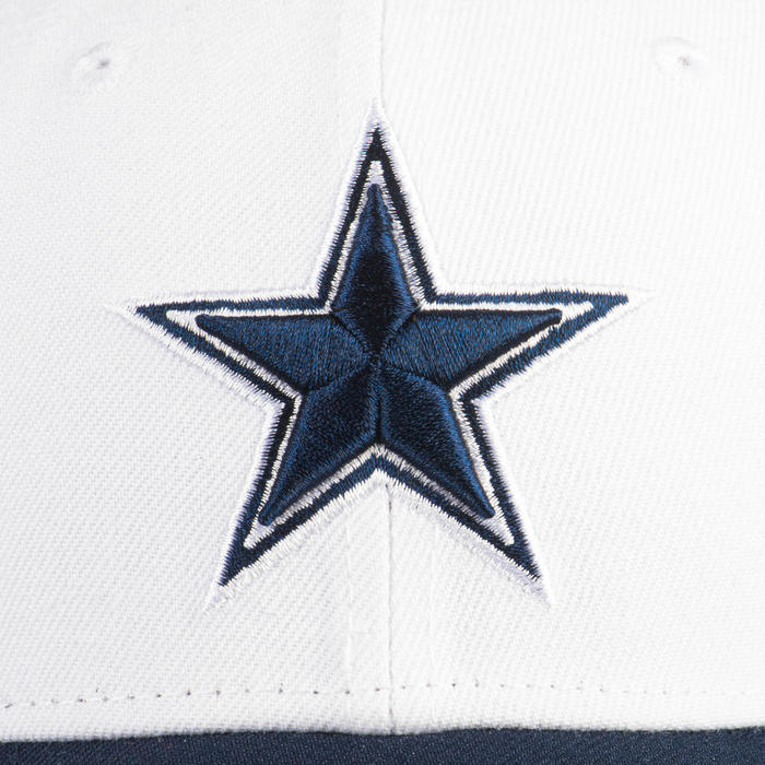 Casquette pour adulte NFL The League Dallas Cowboys bleue et blanche.