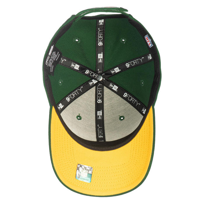 Gorra adulto NFL The League Green Bay Packers verde.