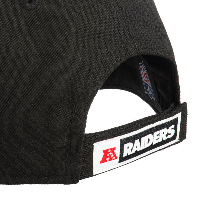 Gorra adulto NFL The League Las Vegas Raiders negra.