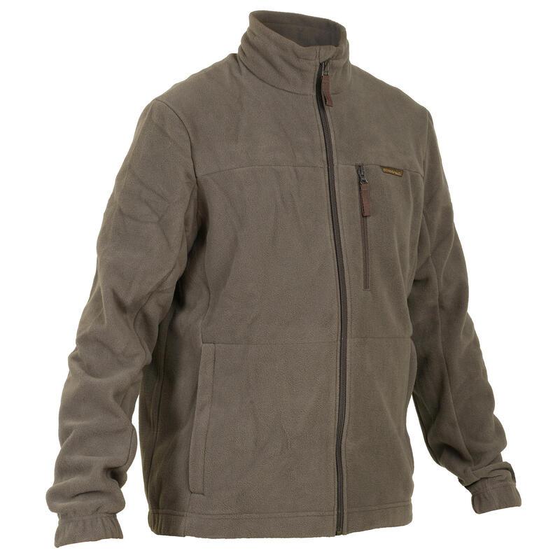 Fleece vest 300 bruin
