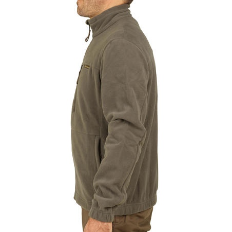 Hunting Fleece Sweater 300 - Brown