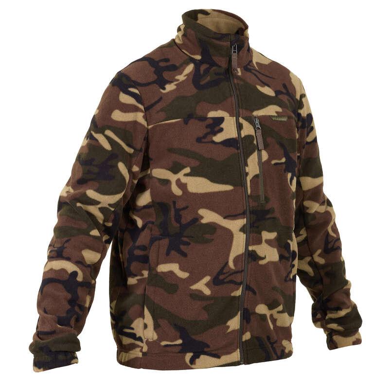 Pile caccia Abbigliamento uomo - Pile Caccia 300 Mimetico Uomo SOLOGNAC - Abbigliamento uomo