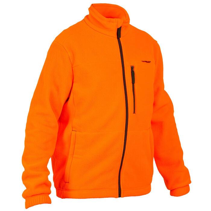 Jagd-Fleecepullover orange 300