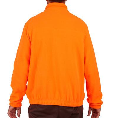 Флісова куртка 300 для полювання - Флуоресцентна