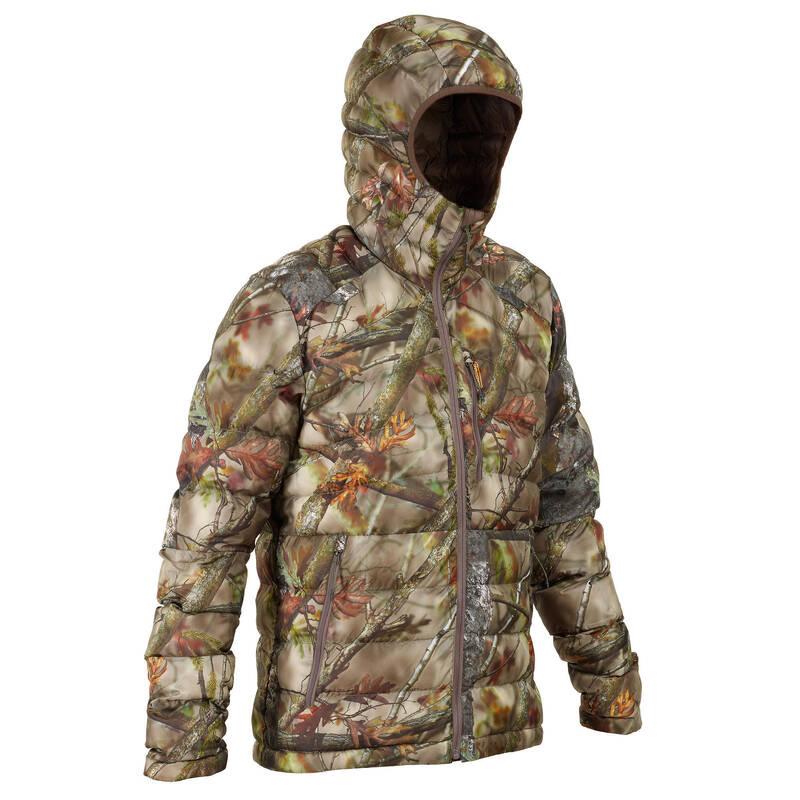 MASKOVACÍ OBLEČENÍ NA ČÍHANOU Myslivost a lovectví - PROŠÍVANÁ BUNDA 900 CAMO BR SOLOGNAC - Myslivecké oblečení
