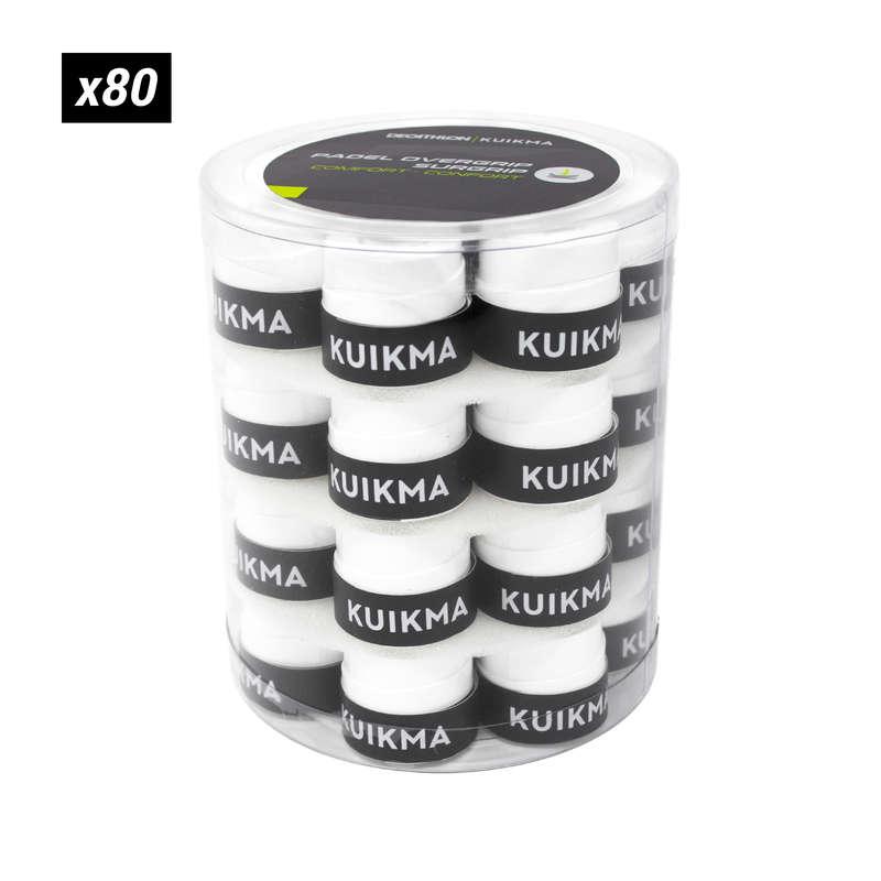PADEL EGYESÜLETI AJÁNLATOK Squash, padel - Padelütő fedőgrip Adherence 80 KUIKMA - Padel
