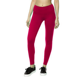 Women's Gym Leggings Slim Fit Salto 100 - Maroon