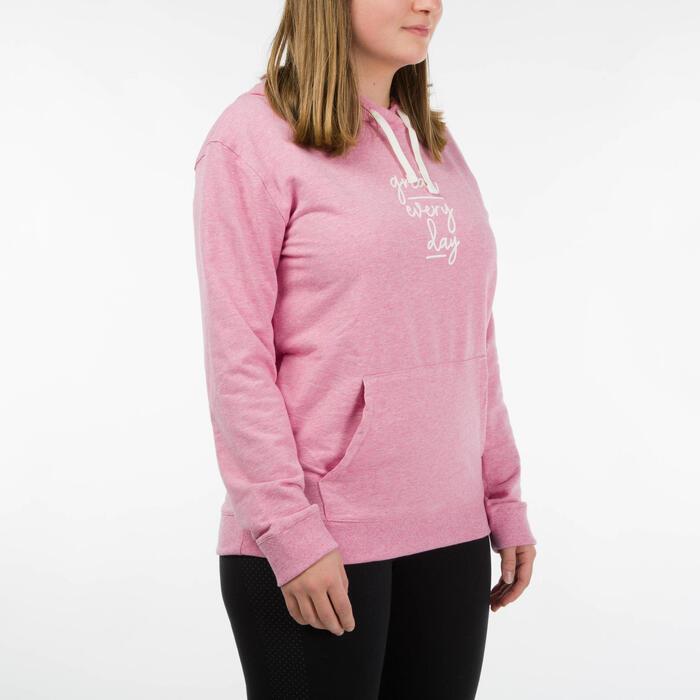 Sweat Training Femme 520 Rose Imprimé