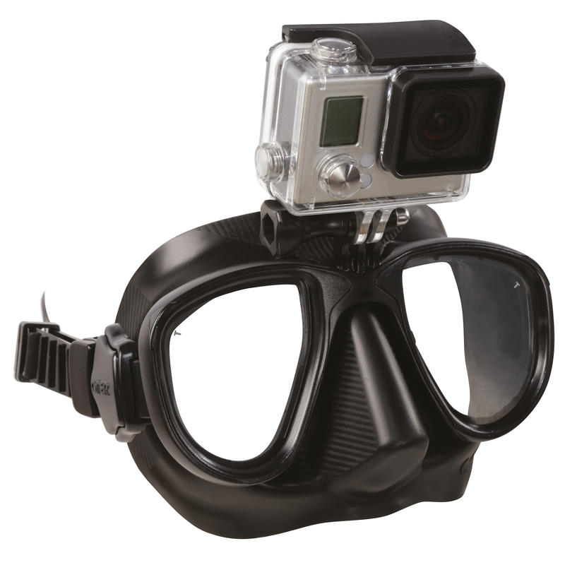 Alien Free-Diving Spearfishing Mask action CAM