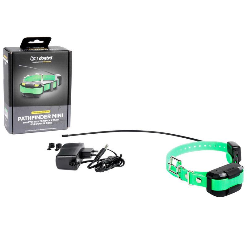 Extra halsband voor lokalisatie en africhten Pathfinder Mini