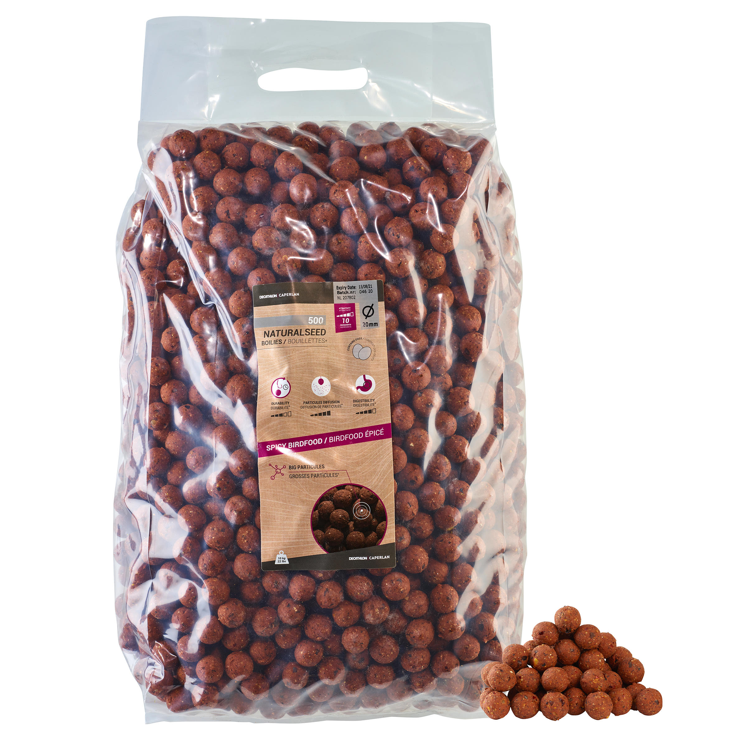 NaturalSeed Spicy 20mm 10kg