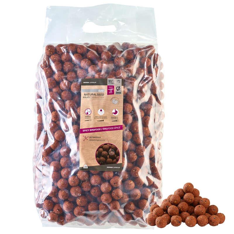 MOMELI CRAP Pescuit - Natural Spicy 24mm 10kg CAPERLAN - Nade, Echipament nadire