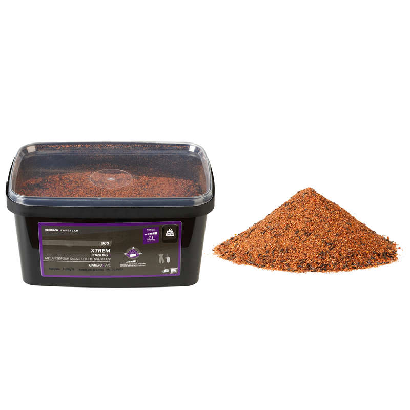 CARP BAITS, BAITING EQUIPEMENT Fishing - XtremStickMix900g Garlic/Liver CAPERLAN - Carp Fishing