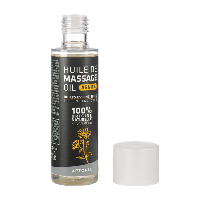 Huile de massage de récupération, arnica et huiles essentielles naturelles