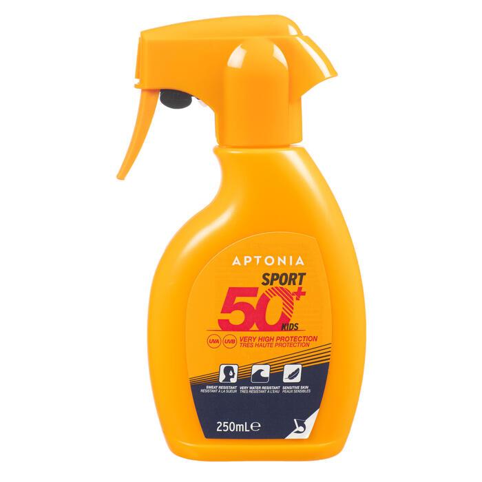 Zonnespray met trekker voor sporters factor 50+ 250 ml